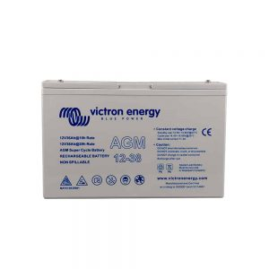 12v 38Ah AGM Super Cycle Victron Battery