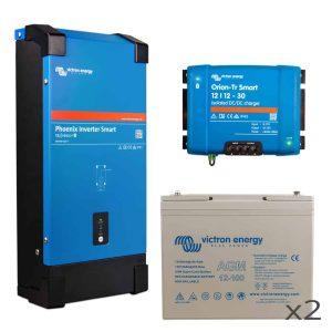 Energy Monkey Van Conversions 200Ah AGM Battery Kit
