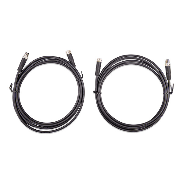 M8 circular connector Male Female 3 pole cable 2m ASS030560200