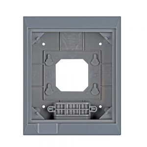 wall mount enclosure for color control GX back