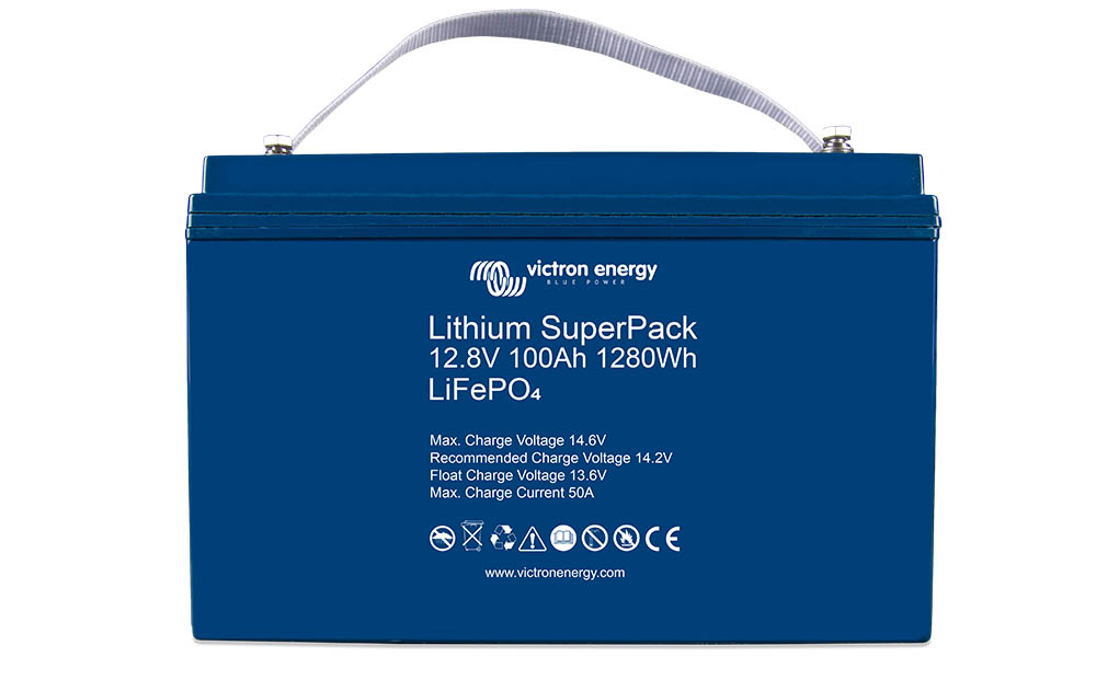 Lithium SuperPack Battery Victron Energy Monkey