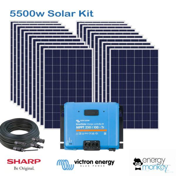 Solar 5500 Kit Victron MPPT