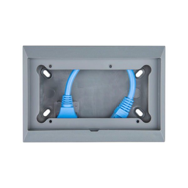 Wall mounted enclosure for 65 x 120 mm GX-panels