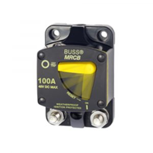 Blue Sea Systems 187-Series Circuit Breaker - Surface Mount 100A